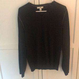Black lightweight sweater